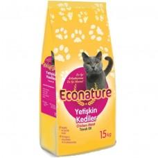 Econature Tavuklu Kedi Maması 15kg
