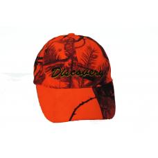 Discovery Turuncu Kamuflaj Şapka