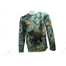 Yiğit Outdoor Uzun Kollu Domuz Figürlü T-Shirt